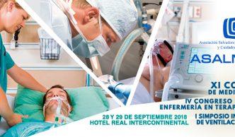 Afiche del XI Congreso de Medicina Crítica